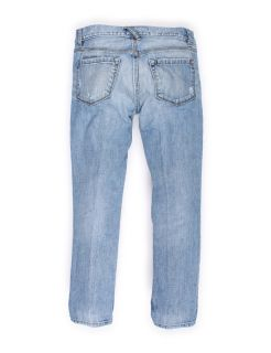Ann Taylor Loft Low Rise Light Blue Straight Leg Jeans Sz 6