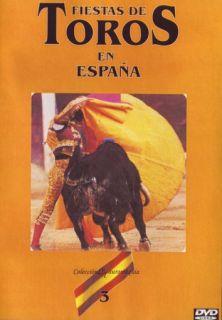 T03/ FIESTAS DE TOROS EN ESPAÑA DVD VOL. 3 CON ORDOÑEZ, JOSE TOMAS