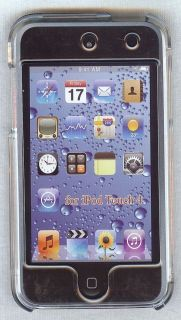 iPod Touch 4th Gen Clear Hard Plastic Case LCD Screen 8 32 64 G 8g 16g