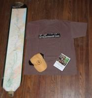 appalachian trail dreamer gift package