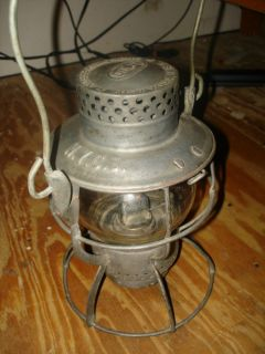 Antique Railroad Kerosene Lantern N Y C s Dietz 999