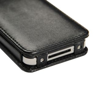 Flip PU Leather Case Cover Pouch for Apple iPhone 4 4G 4S Verizon in