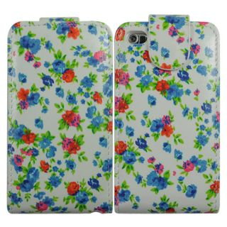 Flower Flip Leather Case Cover Skin for Apple iPod Touch 4 4G