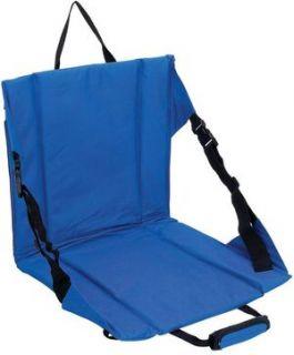 Blue Stadium Cushion Seat Crazy Creek Bleacher Folding Portable Sports