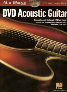 Play Acoustic Guitar Travis Finger Picking DVD Book Tab