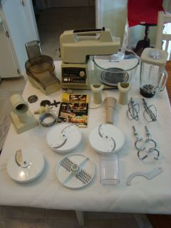 Pre Owned Oster Kitchen Center Food Prep Appliance Complete Manual LNC