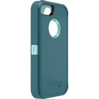 iPhone 5 Defender Series Case Cover Reflection (Aqua/Mineral Blue