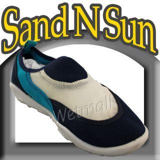 Mens Water Shoes Aqua Socks Sand N Sun Beach Boat Pool Shoes