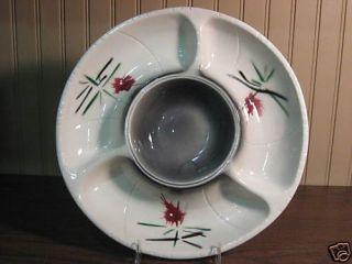 Lane Co Van Nuys CA Pottery Chip N DIP