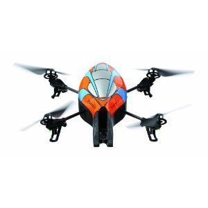 AR Drone Quadricopter Controlled by iPod Touch iPhone iPad and Android