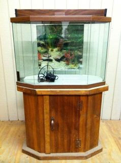 30+Gallon+Fish+Stand 30 Gallon Hex Fish Tank Aquarium and Wood Stand 10 Gallon Fish Tank Stand Metal