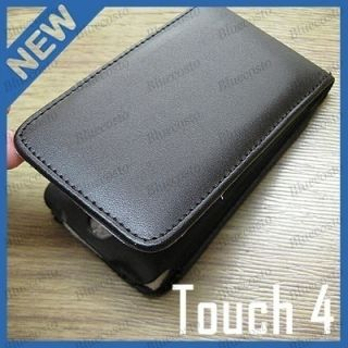 New PU Leather Case Cover Pouch Pocket for Apple iPod Touch 4 4G 4th