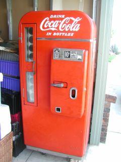 RARE Vintage Coke Machine Model 81D Vendo Coca Cola