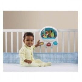 Fisher Price Ocean Wonders Aquarium Baby Crib Lullaby