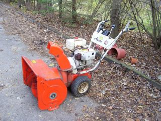 Ariens 24 5HP Gas Snowblower Snow Blower Electric Start