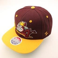 Arizona State Sun Devils NCAA Snapback Hat Cap REFRESH Maroon Yellow