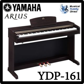 yamaha arius ydp 161 88 key digital console piano w stand. Black Bedroom Furniture Sets. Home Design Ideas