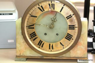 Antique French Made Pendulum Mantel Shelf Clock