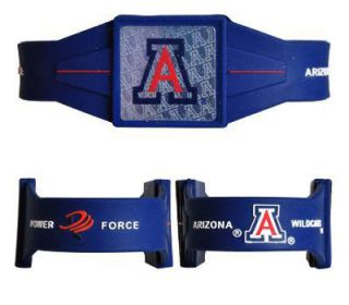 New Officially Licensed Arizona Wildcats PowerForce 8 Bracelet.
