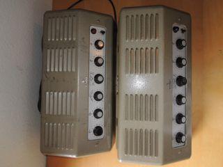 Telefunken Vintage Stereo Tube Amplifier EL95PP