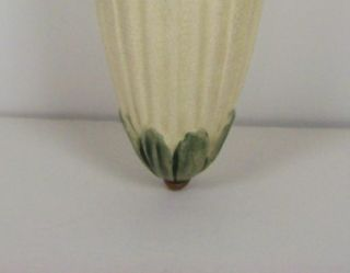 Weller Pottery 8 3 4 Roma Wall Pocket Vase Blue Ribbon Grapes Vintage