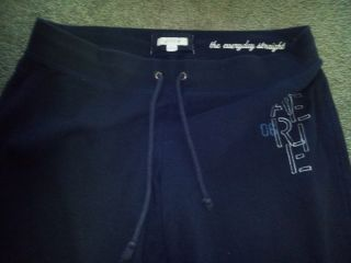 Womens Arie American Eagle Blue sweat Pants Size XL