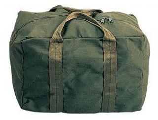 Army Military Olive Drab Air Force Nylon Crew Bag