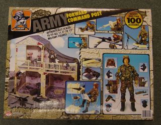 ES Toys Army Forward Command Post MISB SEALED 1 6 Scaled Includes Army