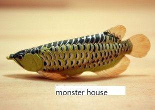 RARE Japan T Arts Gold Golden Arowana Dragon Fish Gashapon