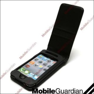LEATHER FLIP WALLET CARD CASE COVER FOR APPLE IPOD TOUCH 4TH GEN 4G 4