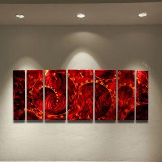 Abstract metal wall art painting sculpture Original art USA artist