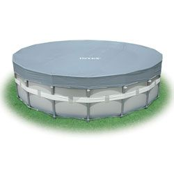 16 Round Intex Deluxe Metal Frame Swimming Pool Cover