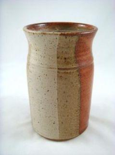studio art pottery modern vase hp description artist signed studio art