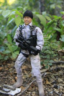 Gi Joe Power Team US Army World Peacekeepers Ranger Playset 12 Action