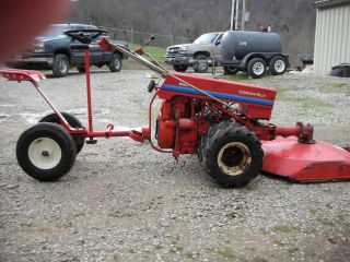 Gravely 5460 Tractor Mower Dual Wheels Electric Start w Tiller and