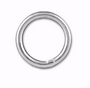 Sterling Silver Round Jump Ring Closed 16mm 19 GA X10