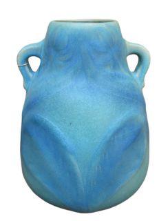 Superb Antique Van Briggle Art Pottery Large Vase FF93