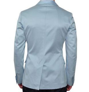 1000$ D&G DOLCE & GABBANA RUNWAY Tuxedo Blazer Jacket Veste Blue Bleu