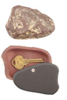 Hide A Key Fake Rock Key Hider Brown Stone Secret Diversion Safe Free