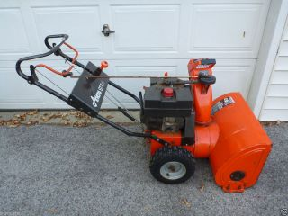 Ariens ST724 Snowblower Snow Blower 7HP 24  Snowthrower Thrower 93022
