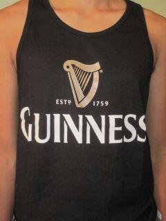 Arthur Guinness Irish Beer Mens Summer Beach Tank Top Muscle Tshirt