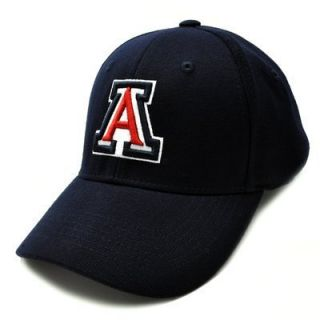 ARIZONA WILDCATS PREMIUM WOOL ONE FIT CAP HAT BY TOP OF THE WORLD SZ L