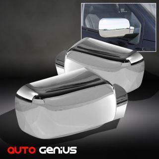04 11 Nissan Titan 05 Armada Chrome Side Mirror Covers