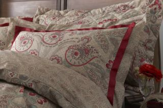 Duvet Quilt Cover Bedding Set Like Paisley Design Double King Super