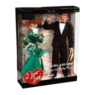 + RICKY Lucille Ball Desi Arnaz Figure TV Barbie DOLL Diet 2011 NRFB