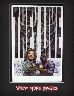 Limited Edition Rare They Live Poster signed by John Carpenter