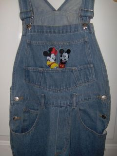 Farmer Jeans Mickey Minnie Mouse Sz Small