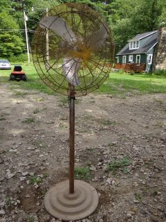 Antique Old Large Emerson Electric Fan Duty Match Frame S60 WA