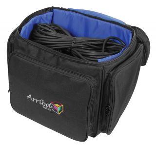 Arriba AL60 Utility LP Record Travel Case w Wheels New