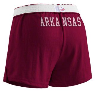 Arkansas Razorbacks Womens Cardinal Authentic Soffe Shorts
